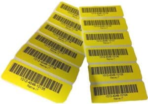 disposal tags