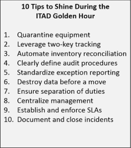 10 Tips to Shine during Golden Hour of ITAD