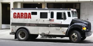 Armored Bank Truck